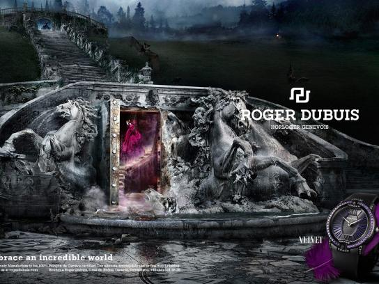 Roger Dubuis Print Ad -  Embrace an incredible world, Velvet