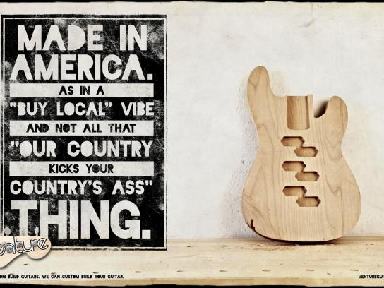 Venture Print Ad -  Venture America