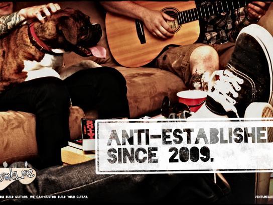 Venture Print Ad -  Venture anti established