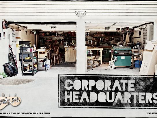Venture Print Ad -  Venture corporate hq