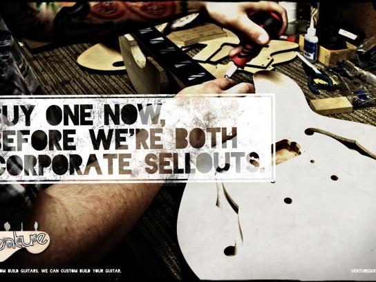Venture Print Ad -  Venture sellouts