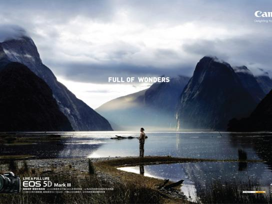 Canon Print Ad -  Live A Full Life, Version C