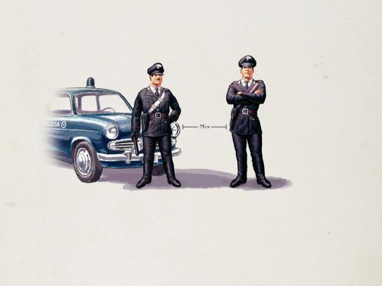 Vespa Print Ad -  Cops