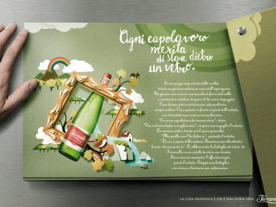 Ferrarelle Print Ad -  Glass