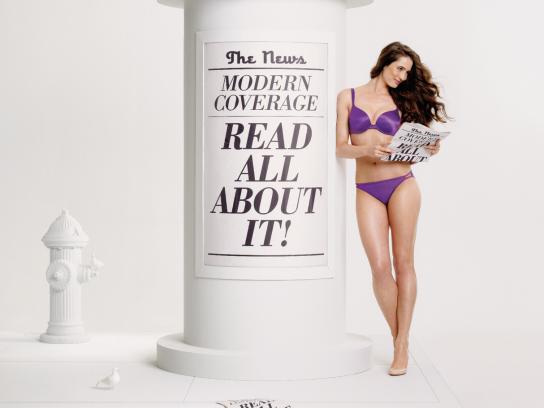 Vanity Fair Print Ad -  Kiosk