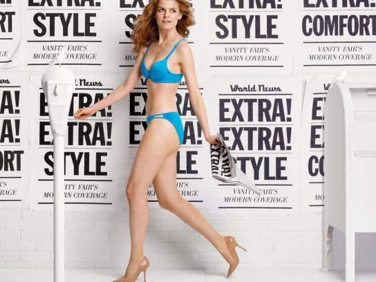 Vanity Fair Print Ad -  Wall