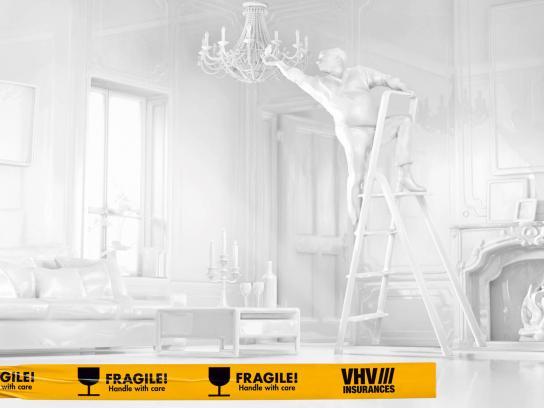 VHV Holding Print Ad -  Ladder