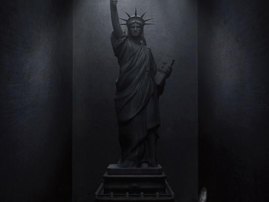 Via Terra Print Ad -  Statue of Liberty