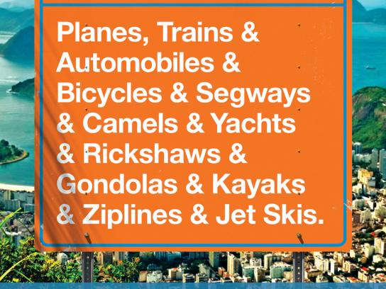 Viator Outdoor Ad -  Planes & Trains