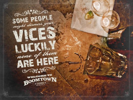 Boomtown Casino Print Ad -  Vices