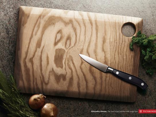 Victorinox Print Ad -  Pine