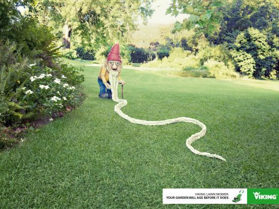 Viking Print Ad -  Gnome