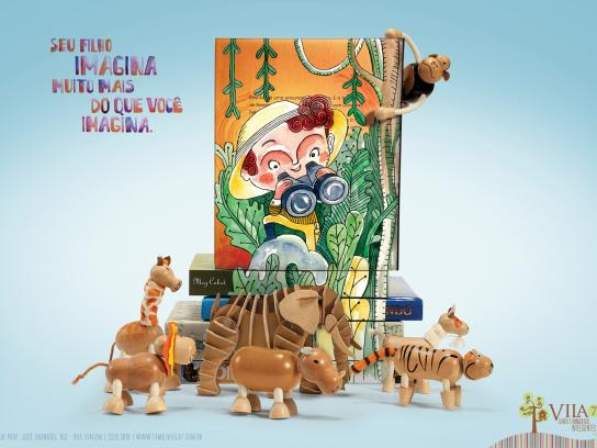 Vila7 Print Ad -  Jungle