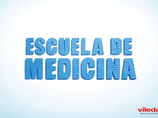 Vileda Print Ad -  School of medicine