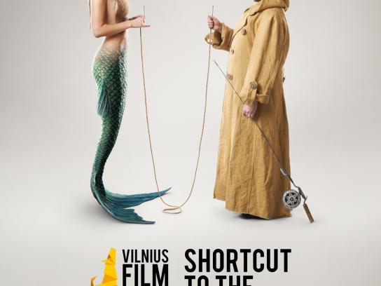 Vilnius Print Ad -  Fish