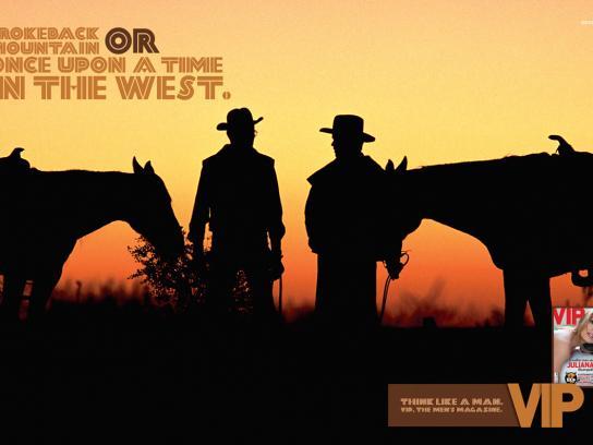 VIP Magazine Print Ad -  Cowboys