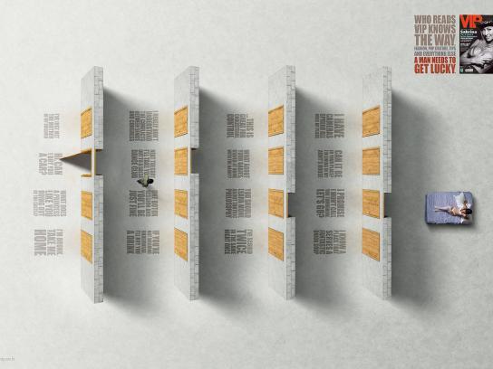 VIP Magazine Print Ad -  Doors, 2