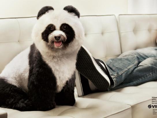 Vipal Print Ad -  Panda