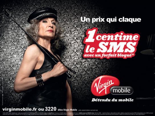 Virgin Print Ad -  Lady