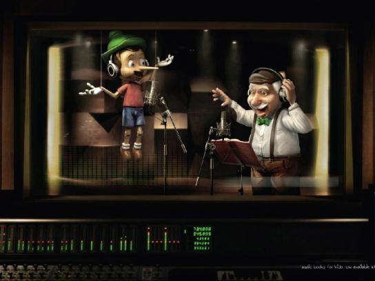 Virgin Print Ad -  Pinocchio