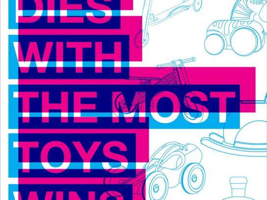 Visi Magazine Print Ad -  Toys