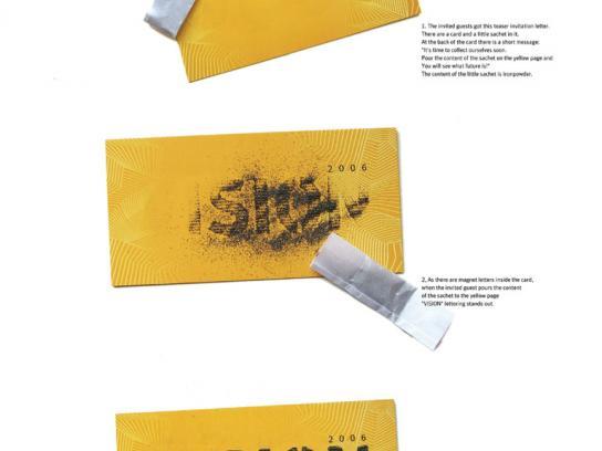 Symantec Ambient Ad -  Invitation card, Vision