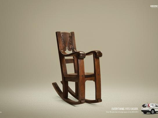 Honda Print Ad -  Chair