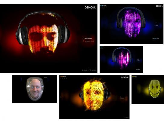 Denon Digital Ad -  VisYOUalizer