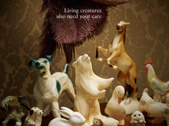 Viva Foundation Print Ad -  Animals