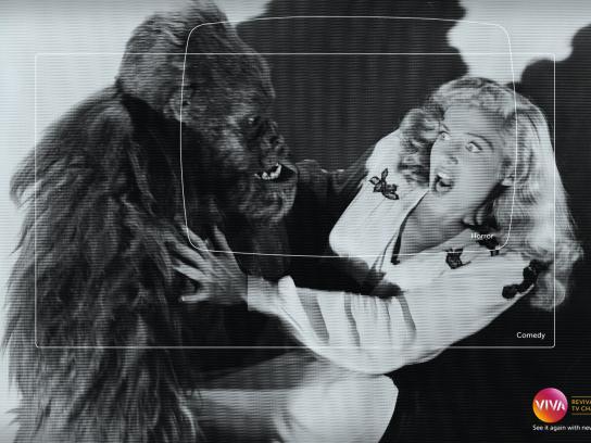 Viva! Print Ad -  Revival, Horror-Comedy