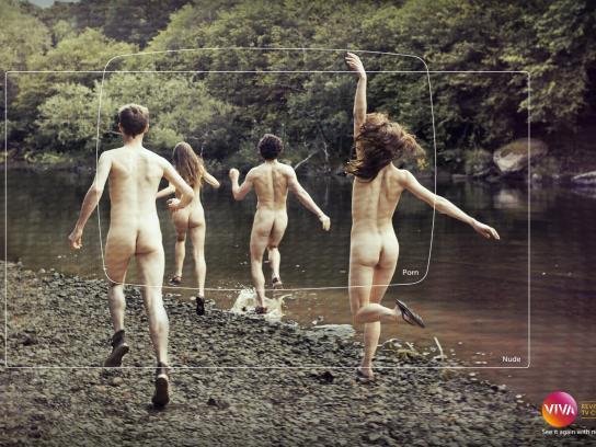 Viva! Print Ad -  Revival, Porn-Nude