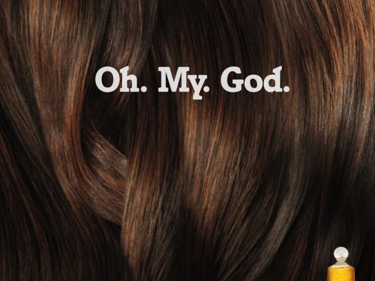 VO5 Print Ad -  God