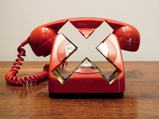 Vodafone Print Ad -  Phone