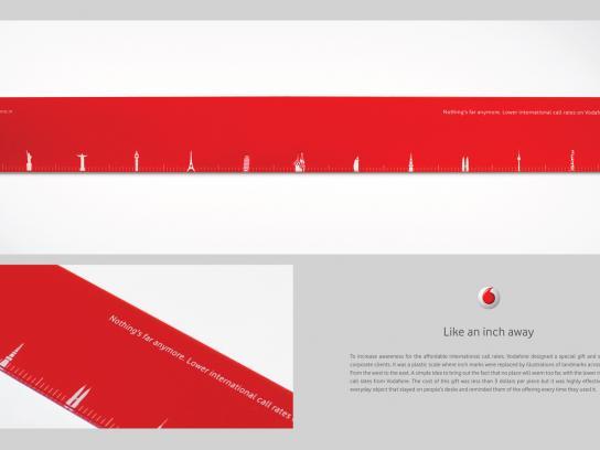 Vodafone Direct Ad -  Like an inch away