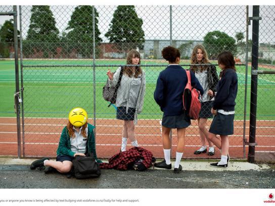 Vodafone Print Ad -  Text bullying, 1