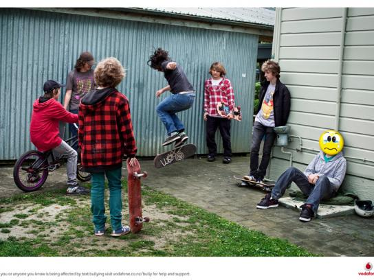 Vodafone Print Ad -  Text bullying, 3
