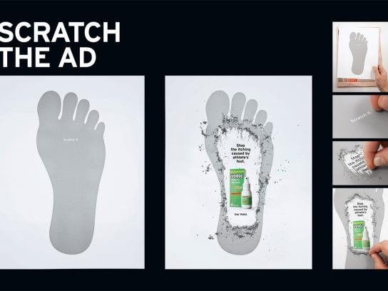 Vodol Ambient Ad -  Scratch the ad