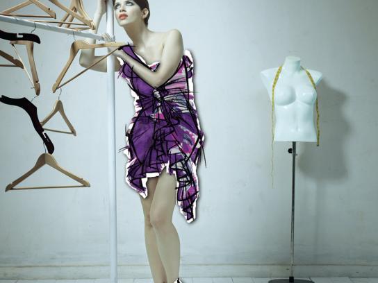Vogue Print Ad -  Girl, 1