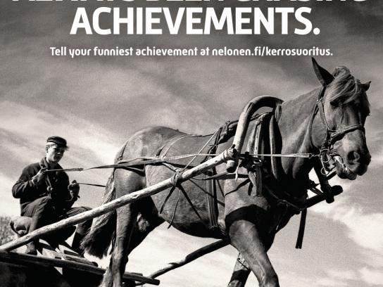 Nelonen Print Ad -  Plough
