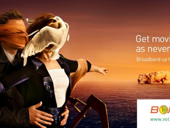Volia Print Ad -  Titanic