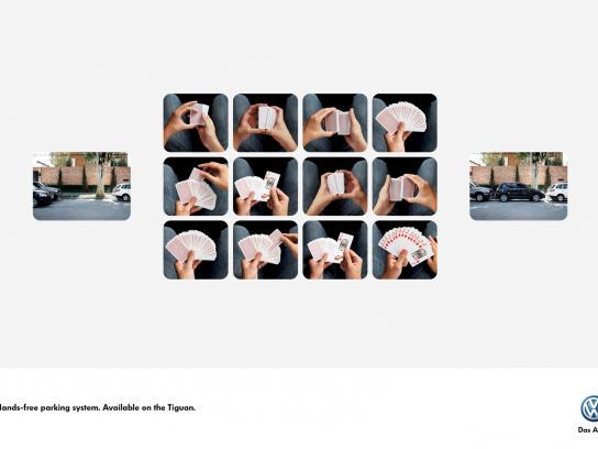 Volkswagen Print Ad -  Cards