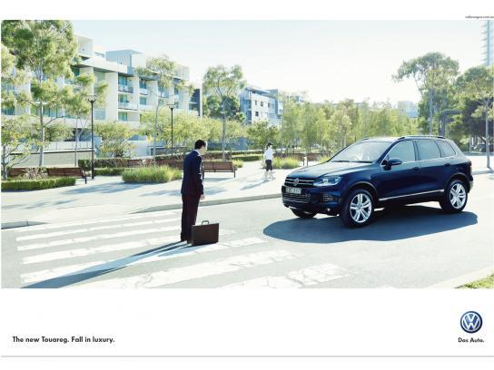 Volkswagen Print Ad -  Crossing