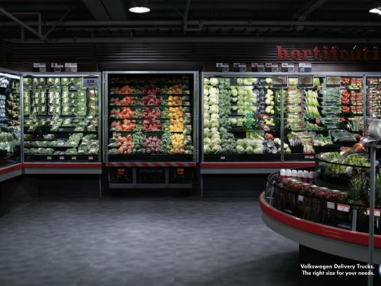 Volkswagen Print Ad -  Supermarket