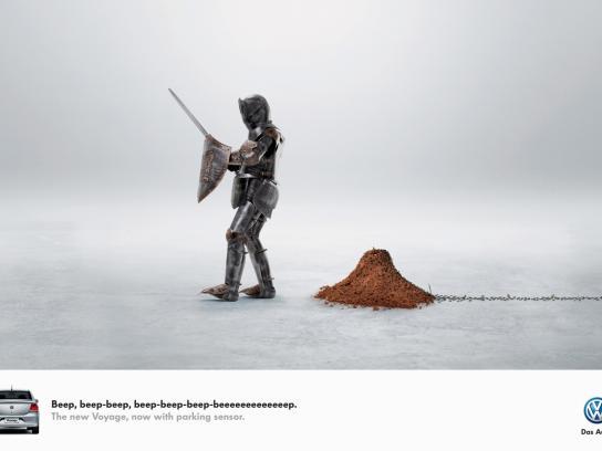Volkswagen Print Ad -  Beep-beep, 2