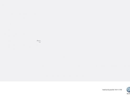 Volkswagen Print Ad -  Lennon