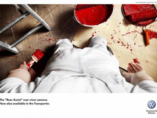 Volkswagen Print Ad -  Paint Bucket