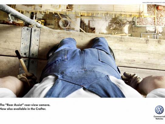 Volkswagen Print Ad -  Scaffolding