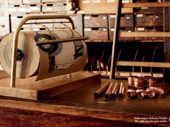 Volkswagen Print Ad -  Paper