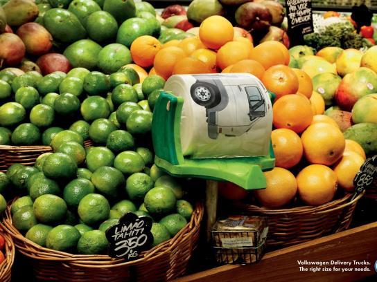 Volkswagen Print Ad -  Plastic Bag