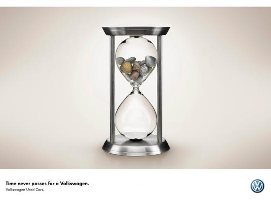 Volkswagen Print Ad -  Hourglass